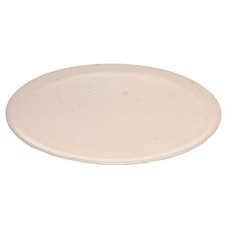 RAW round serving plate nude
