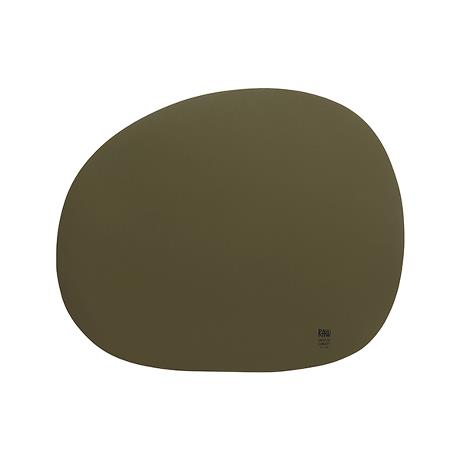RAW - organic placemat military olive 1 pcs