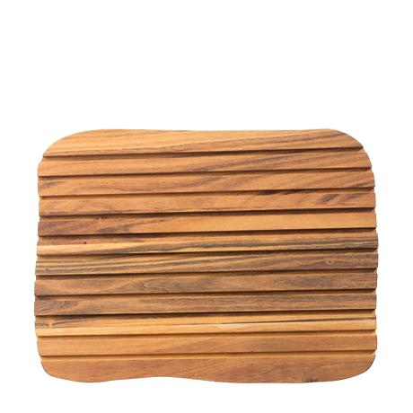 RAW - cutting board in teakwood - 1 pcs.